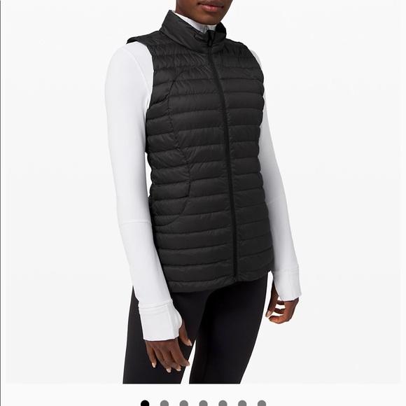 Lululemon Pack It Down Vest size 8
